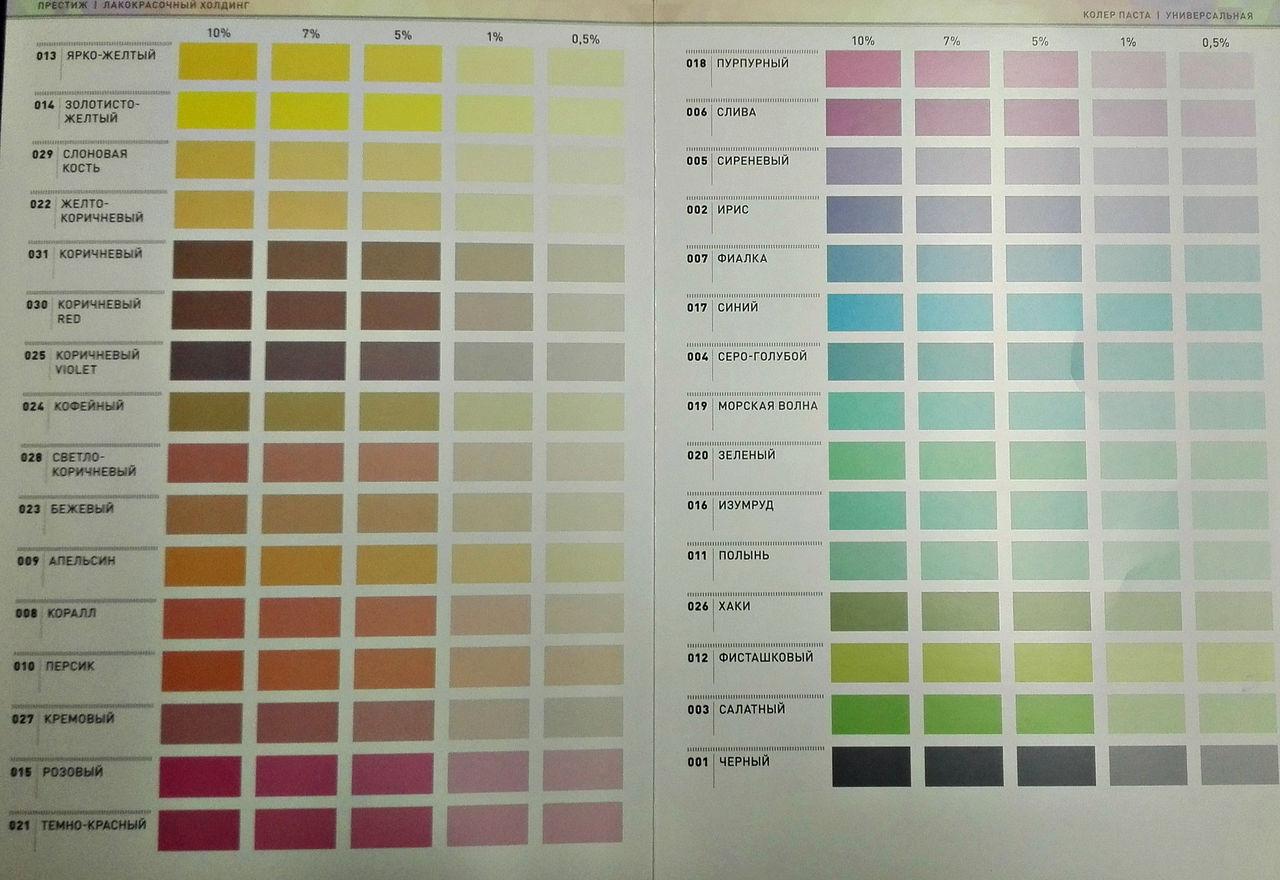 Серый колер для водоэмульсионной краски своими руками 21